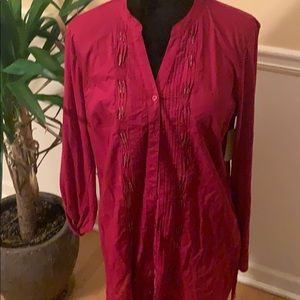 2 for $20 NWT Coldwater Creek button down top